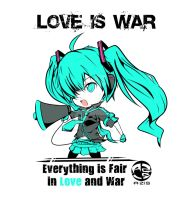 Love is War ,Chibi Ver by YusufIsAzis