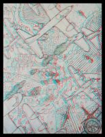 Anaglyph Bombers by shawnrl61