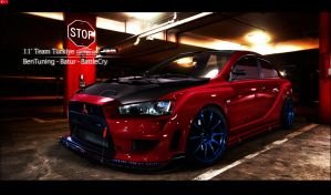 WTB 11' Evo X by Batu-RChoping