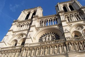 Notre Dame, Looking Up by Amber-EyedSpirit