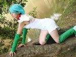Shaymin Gijinka  - Pokemon by MishiroMirage