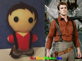 Firefly Plushes: Captain Reynolds by AkaKiiroMidoriAoi