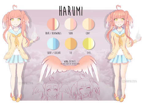 Harumi - UP FOR ADOPTION ($10+ AUCTION) by Spartkle