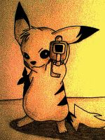 Fear the Pikachu by xdevilxdebzx