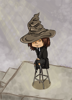 The Sorting Hat by bruceliane