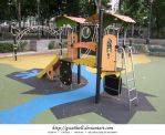 Paris - Playground by Gwathiell