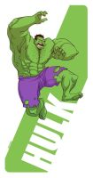 THE HULK by MichaelBills