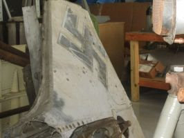 Focke-Wulf Fw 190  Restoration Tail Section by ANDREW115342