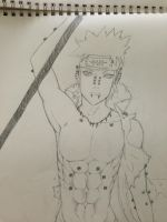 Pein Fighting (Naruto Shippuden) by EN-Avent