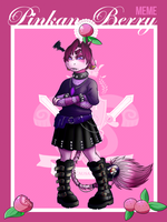 Stm Pinkan Berry Meme - Pink make goth unhappy by coyotepack