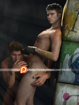 Dante and Miguel NSFW set available by Mo0nX