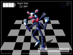 Five Nights At Freddy's 2 Mangle by DarkenGales