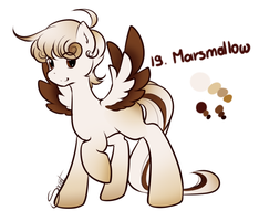 21 Marshmallow by secret-pony