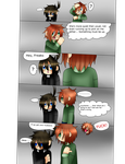 Carter doesn't know how to cheer people up by freaky4manga