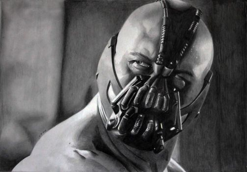 The Dark Knight Rises Bane 2 by donchild