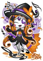 Meloetta Halloween Forme by Star-Soul