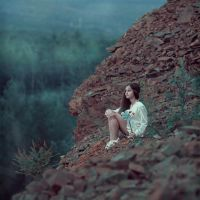 In the mountains by AnnaGrazhdankina