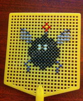 MarioPaint - Gnat Attack x-stitch by dishbitch