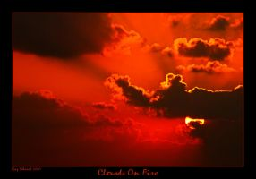 Clouds On Fire by Aderet