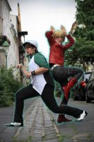 Tiger n Bunny: HERE TO SAVE U by Promano