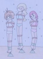Sunk Girls by TraceMem