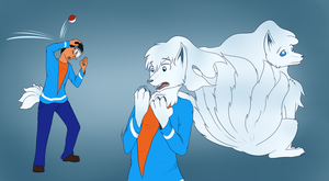 Frost Ninetails tf (commission) by Tomek1000