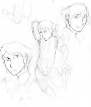 Ryouta doodles by TheUltione