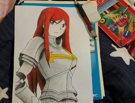 Erza Scarlet by AbirAhmed