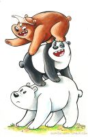 WBB - Bear Stack by sophiecabra