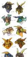 Spyro Dragons by Turtle-Arts
