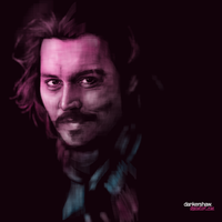 Johnny Depp by dankershaw