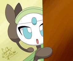 Meloetta is Shy by LaahGata