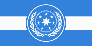 Flag of the United Galactic Federation by RvBOMally