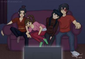 A:tLA- Relaxing by witchofoz93