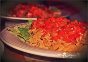 Happy New Year Pasta by Roxyielle