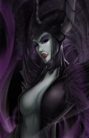 Maleficent by irving-zero