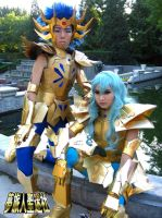 Cos: DM and Aphrodite by StormSoon