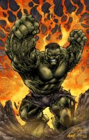 Hulk Smash by kevinenhart