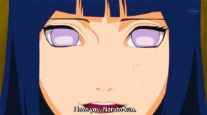 Hinata telling Naruto she loves him by bekka72798