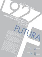 Font History Posters - Futura by Lludu