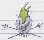 Scary Guy Skull by AKERS117