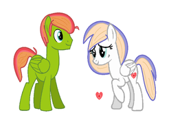 Fluttershy's Parents (Possible option) by SoraStrives