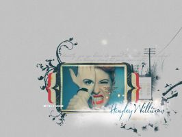 Hayley Williams Wallpaper by ultraVioletSoul