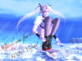 Marie Rose 5000 views! by Kojima-of-No-Stigma