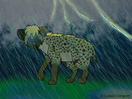 Cas after being washed away by The-Smile-Giver