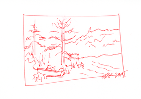 Bambe Cottage Sketch 4 by AdamTSC