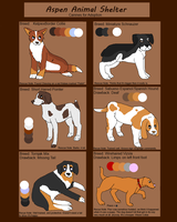 Rescued Dog Adoptables [2/6 OPEN] by Aspen-Animal-Shelter