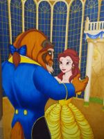 Beauty and the Beast by BlueHorizon89