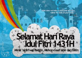 Happy Idul Fitri 1431H by theXIVdesigns