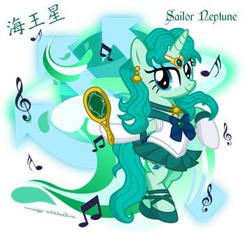 [7/11] Sailor Neptune by MeganLovesAngryBirds